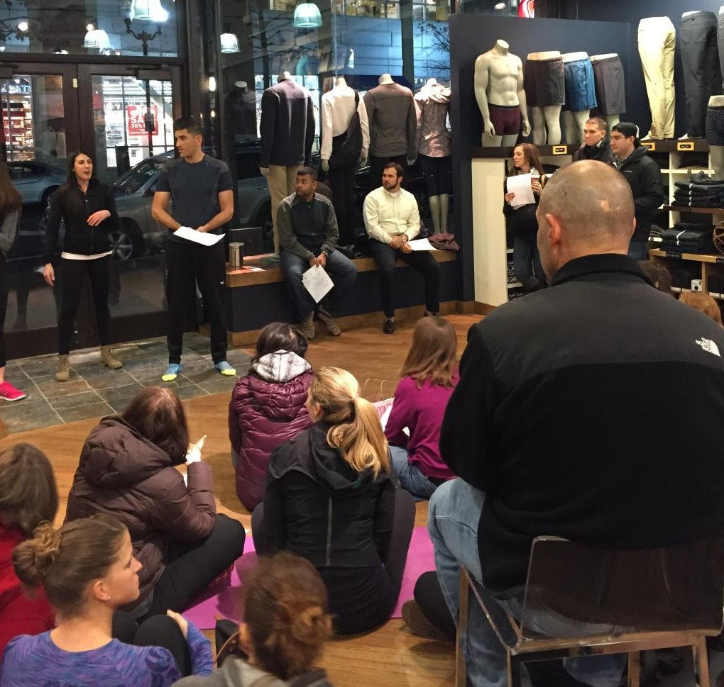 lululemon workshop